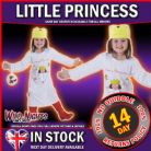 FANCY DRESS COSTUME ~ GIRLS LITTLE PRINCESS CARTOON BOOK OUTFIT AGE 2-3
